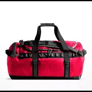 The North Face Red 72L Duffel Bag